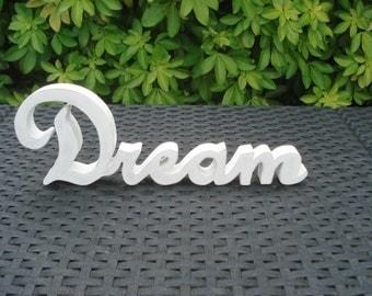 Word Dream wooden