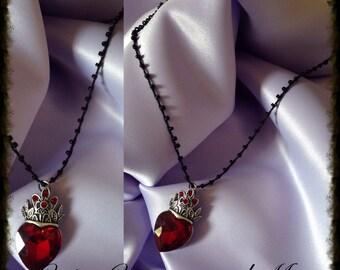 Evil Queen Heart Necklace