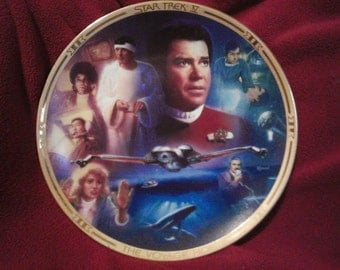 Star Trek Collectible Plate - ST IV: The Voyage Home