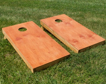 Unfinished Cornhole Board Set