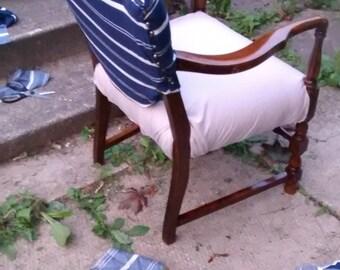 Sailor inspired desk chair