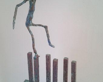 """Sculpture """"Balancing act"""""""