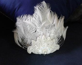 Feather hair piece