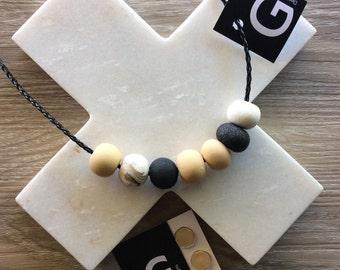 ECRU - Handmade Polymer Clay Jewellery - 'ECRU'