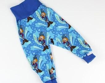 Bloomers - Wicky - size 74/80 baby pants Mitwachsen pants * nikima * star Hey Hey