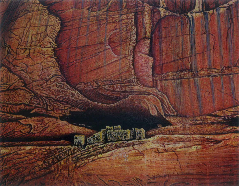 Canyon De Chelly White House Cliff Dwellings