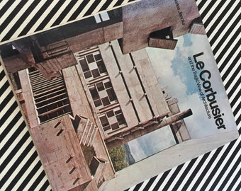 Le Corbusier and the Tragic View of Architecture. Hardback 1973.