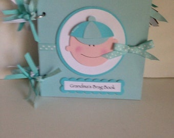 Baby Boy Grandma's Brag Book