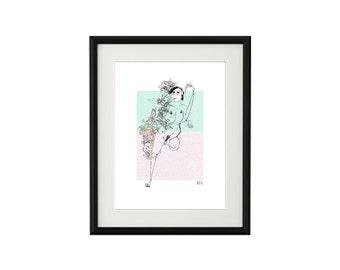 Framed Print: TINA