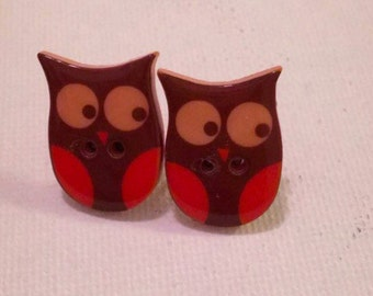 Its a Hoot Owl Earrings