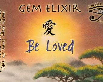 Be Loved Planetary Crystal Gem Elixir Solar Tonic Tincture
