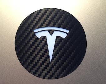 Tesla MacBook Decal - Circle