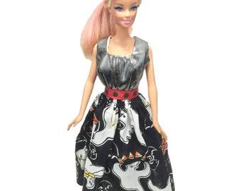 Barbie doll clothes, Barbie Dress, Barbie clothes, princess dress for Barbie