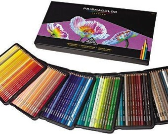Prismacolor 48/72/132/150 Colored Pencils for Art Drawing Sketching or Coloring - teacher gift - Soft core premium colored pencil set