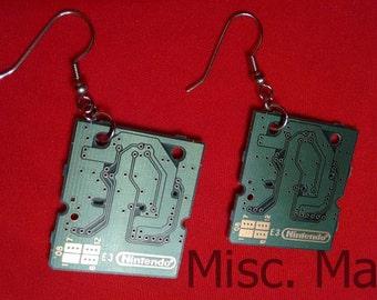 DS Chip Earrings