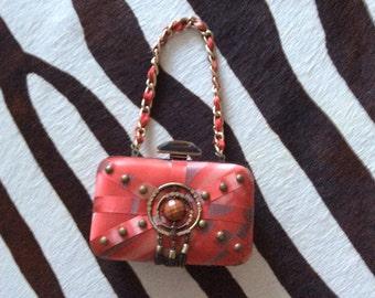 Evening jeweled bag
