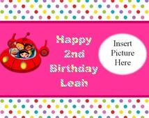 Little Einsteins Birthday Sign