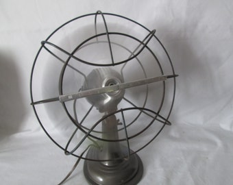Fantastic 1940's Westinghouse metal Working Oscillating Fan