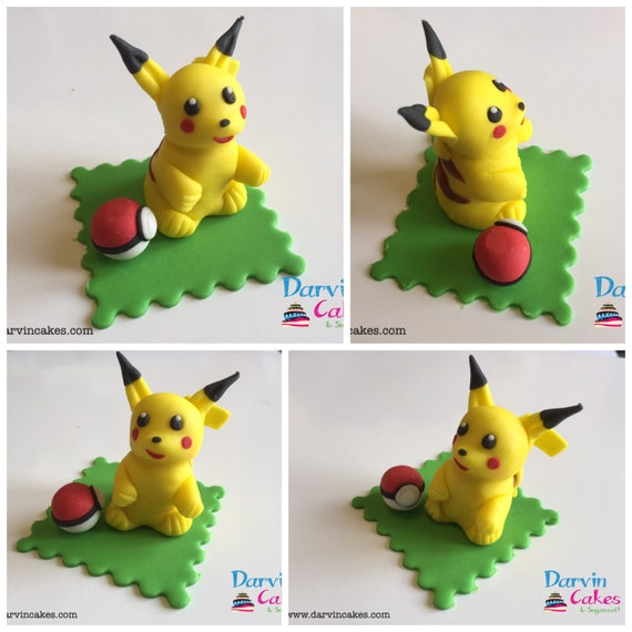 Pikachu Cake Toppers Uk