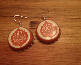 Odell Brewing Co. Earrings