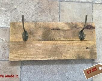 Coat Hooks - Handcrafted - Rustic