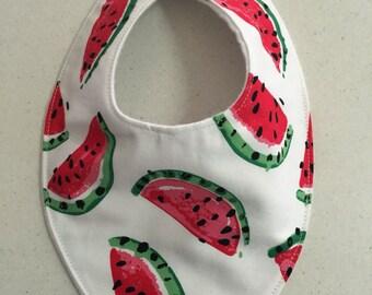 20. Handmade Baby Bandana Dribble Bib Watermelon Teething