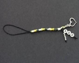 Round Knot ASD Bag/Phone/Purse/Zipper Charm