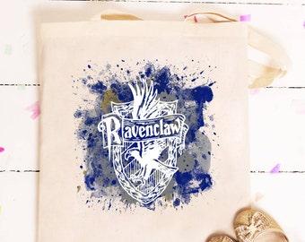 Ravenclaw Tote Bag, Harry Potter Tote Bag gift, Harry Potter gift, Custom Harry Potter Tote Bag,