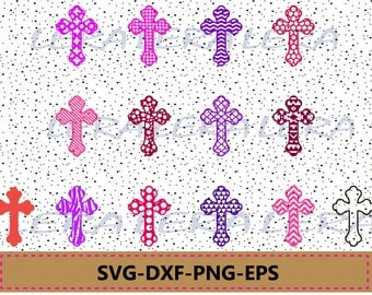 60 % OFF, Cross SVG, Christian Cross Cut Files, png, eps, dxf, Christian Svg Files, Cross Pattern svg, SVG Cross, Files For Vinyl Cutters,
