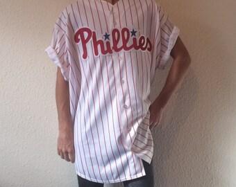 Vintage Majestic Philadelphia Phillies MLB Baseball Jersey - 3XL