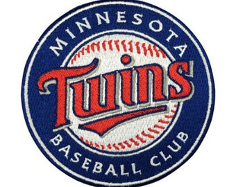 Minnesota Twins Patch Embroidered  Iron On Sew On Patches