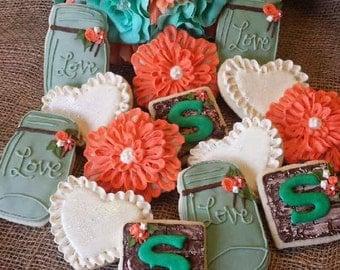 Rustic Farmhouse Sugar Cookies - Includes One Dozen Cookies