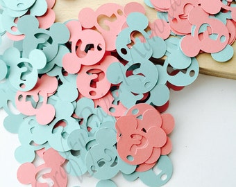 Mickey Mouse Gender Reveal Party Confetti