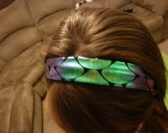 "1"" Color Changing Mermaid Scale Headband"