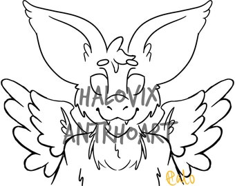 Dutch Angel Dragon Your Character Here Furry Drawing
