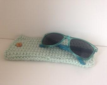 Crocheted Sunglasses Case- ON SALE!