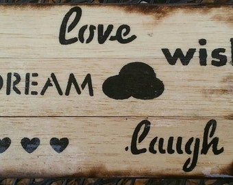 Rustic Wall Plaque