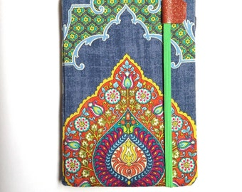 iPad Mini cover - Exotic - hardcover case for iPad Mini tablets - boho tablet case tech gift