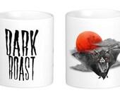 Dark Roast Bat Coffee Mug