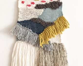 Woven wall hanging: Made To Order. Will ship 1-2 wks after purchase