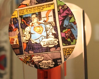 Superman Comic Nightlight