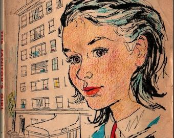 The Janitor's Girl - Frieda Friedman - Mary Stevens - 1964 - Vintage Kids Book