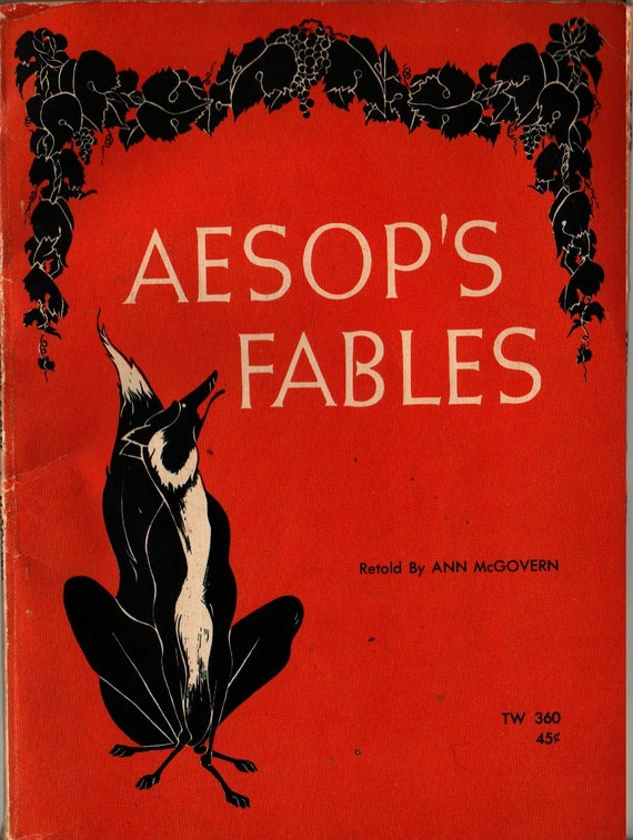 Aesop's Fables - Ann McGovern - A. J. McClaskey - 1966 - Vintage Kids Book