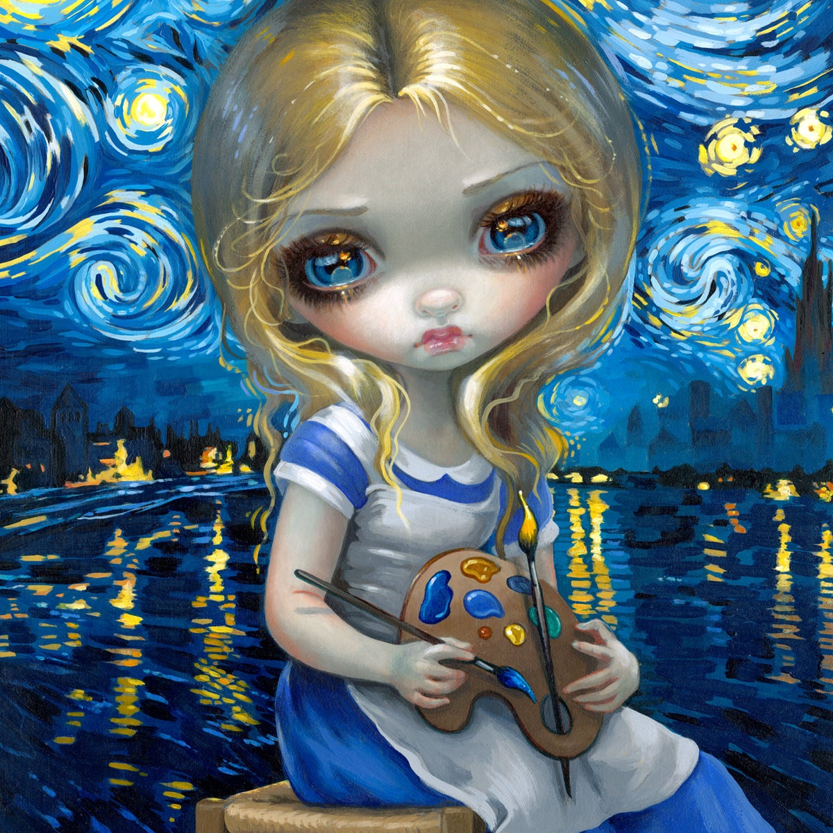 Strangeling The Art Of Jasmine Becket Griffith By Strangeling