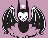 Custom order for rettun only PLEASE
