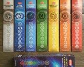 Box of Hem 7 Chakras Incense Sticks