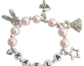 Ballerina Jewelry Pink Pearl Ballet Girls Dance Recital Girls Ballet Bracelet Ballet Pointe Shoes Bracelet Free Shipping In USA
