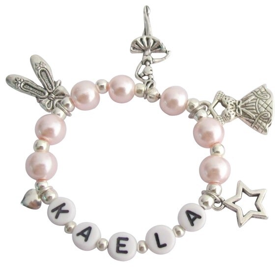 Ballerina Jewelry Pink Pearl Ballet Girls Dance Recital Girls Ballet Bracelet Ballet Pointe Shoes Bracelet Free Shipping In USA