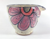 Bright Flowers Mixing Bowl with Spout