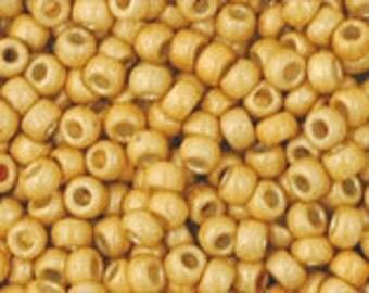 TOHO 11/0 Permafinish Matte Galvanized Starlight Seed Bead  10 Grams